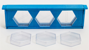 Detachable hexagon boxes for Honeycomb frame