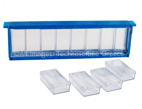 Honeycomb frame with detachable boxes