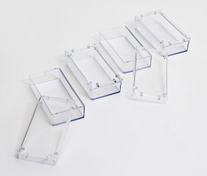 Detachable rectangular boxes for Honeycomb frame