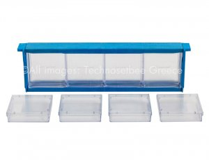 Honeycomb frame with 8 detachable square boxes
