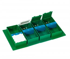 Small  Twin Top Inner Feeder for Q4 hive